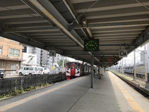 熊本駅の0番ホーム