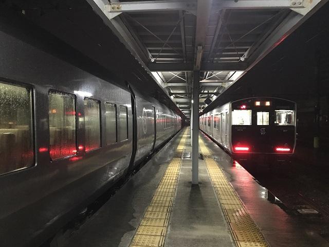 0C乗り場に回送列車