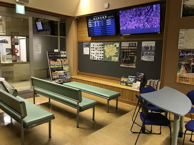 空港ライナー待合室