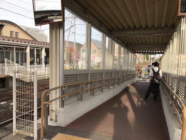 肥後大津駅ホーム