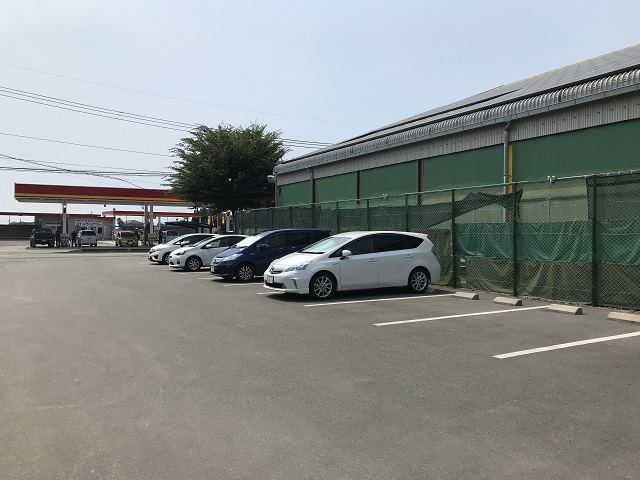 クラージュ駐車場
