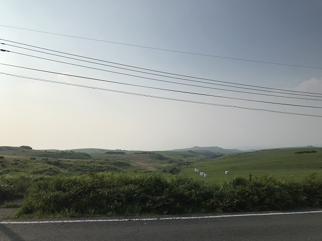 ラピュタの道反対側