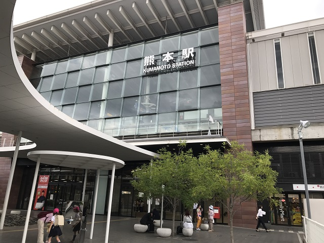 熊本駅正面