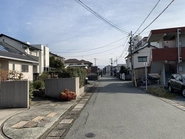昭和町の町並み2