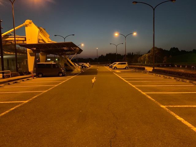 天草空港駐車場