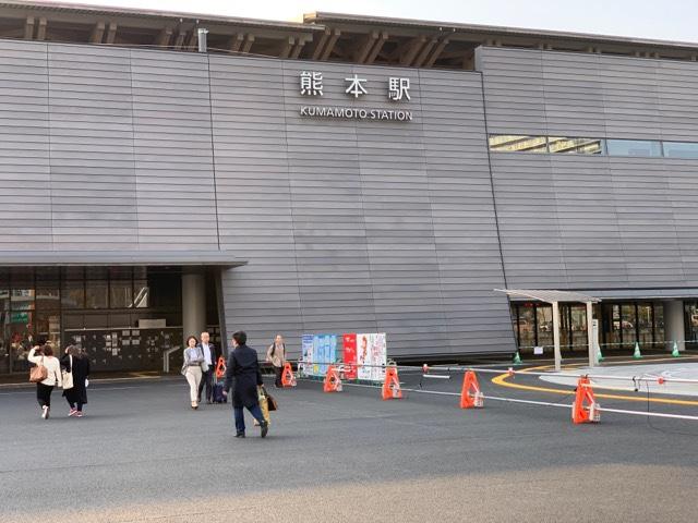 新しい熊本駅舎