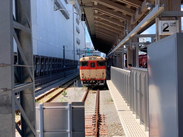 熊本駅2番ホーム