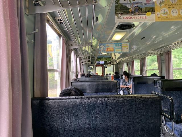 滝水駅から乗車