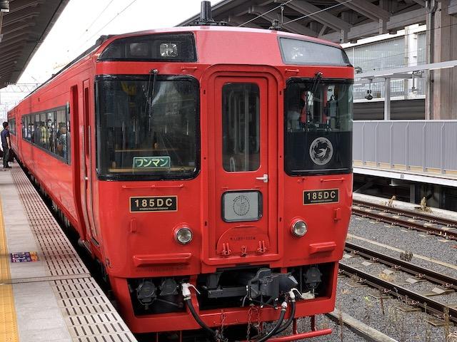 熊本駅の特急阿蘇