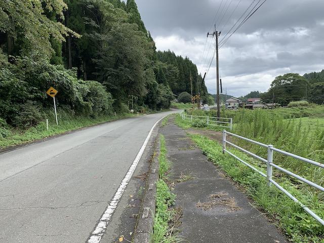 波野駅から滝水駅へ